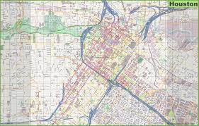 Greater Orlando Area Map by Houston Maps And Orientation Houston Texas Tx Usa Houston Map Usa