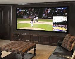 one of the latest trends in custom media rooms for tv enthusiasts