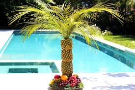 how to make a pineapple palm tree for a serving tray ehow
