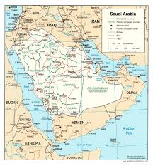 Physical Map Of The Middle East by Maps Of Saudi Arabia Detailed Map Of Saudi Arabia In English