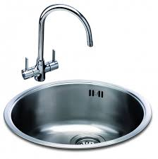 Carron Phoenix Carisma  Round Bowl Kitchen Sinks Taps And Sinks - Round sinks kitchen