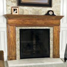 fireplace mantel surrounds ideas surround contemporary wood