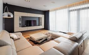 Large Floor L Living Room Appealing Large Modern Tv Room Design With