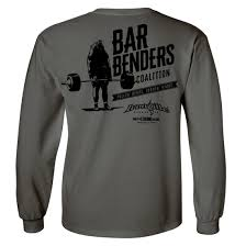 Powerlifting Bench Press Shirt Bar Benders Coalition Long Sleeve Deadlift T Shirt Ironville
