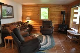 modern elegant living interior small cabin ideas with dark brown
