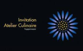 atelier cuisine tupperware une invitation à un atelier culinaire c est cuisine
