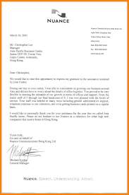 Thank You For Your Business Letter To Client by Sample Letter Thank You For Your Business Image Collections