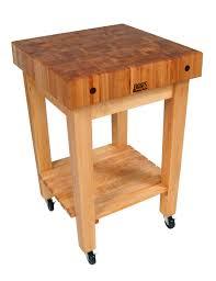 john boos gourmet block butcher block stand u0026 cart