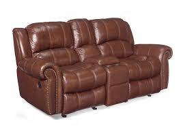 cognac leather reclining sofa entertainment 2 glider leather reclining sofa products pinterest
