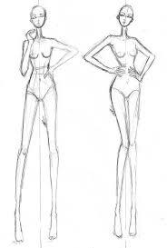 gallery croqui fashion body templates drawing art gallery