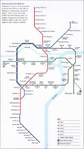 Shanghai Metro Map by Detailed Map Of Shanghai Subway 2007 And Maglev Train Line