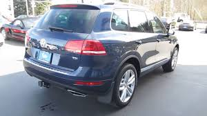 volkswagen touareg blue 2014 volkswagen touareg night blue metallic stock 109876