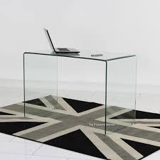 Small Glass Desks Small Glass Desk Akomunn