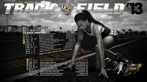 ucf track u0026 field poster 2013 green label graphics u0026 designs