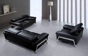 Set Sofa Modern Sofa Designs Black Sofa Set Black Leather Furniture Sets Black
