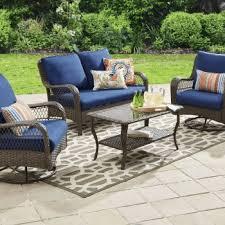 Faux Wicker Patio Sets Resin Wicker Patio Furniture Sets Outdoor Room Ideas