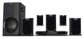 Buy Philips Htd5540 94 5 1 Dvd Home Theatre System Online At Best - philips htd2520 home theater system black price buy philips