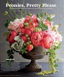 peony arrangement appealing gorgeous peony arrangement in classic urn table designs