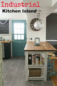 Wood Top Kitchen Island by Best 25 Rustic Kitchen Island Ideas On Pinterest Rustic