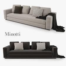 sofa minotti sofa minotti 3d models for turbosquid