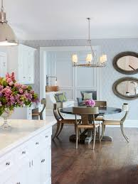 Baby Kitchens L Shaped Two Toned Cabinets In Kitchen Mixed Round Leather Bar