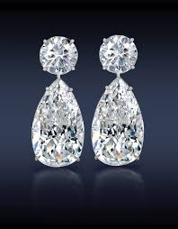teardrop diamond earrings jacob co teardrop diamond earrings two brilliant cut pear shape