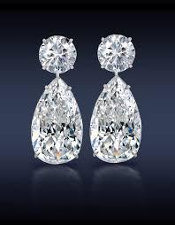 diamond teardrop earrings jacob co teardrop diamond earrings two brilliant cut pear shape