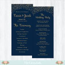 Sample Of Wedding Programs Ceremony 19 Wedding Ceremony Templates U2013 Free Sample Example Format