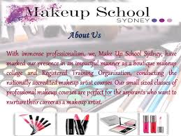 Colleges For Makeup Artists Welcome To Makeup Sydney Become A Pro Makeup Artist Ppt