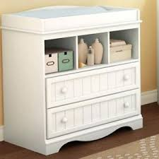 White Changing Tables For Nursery White Changing Table And Dresser With 2 Drawers And 3 Cubbies