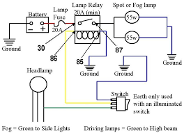 ford transit forum u2022 view topic extra lamps relay problem
