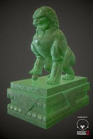 jade lion statue jade shishi lion guardian statue alan mitchell on