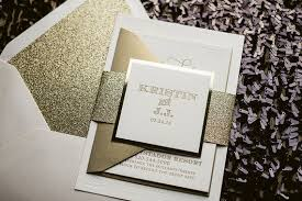 gold wedding invitations white gold mirror letterpress wedding invitation