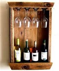 rustic wall wine rack wood wine bottle holder gift for