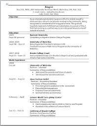 resume style exles resume format in australia shalomhouse us