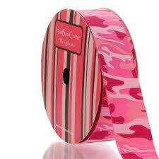 camo ribbon 7 8 pink camo grosgrain printed ribbon
