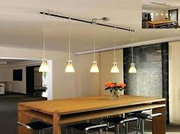 Track Pendant Light New Track Lighting Hanging Pendants An Easy Kitchen Update With