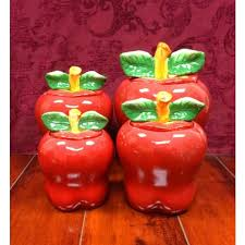 apple kitchen canisters cheap kitchen storage canisters ceramic find kitchen storage