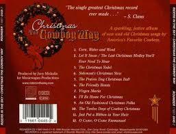 christmas the cowboy way riders in the sky songs reviews