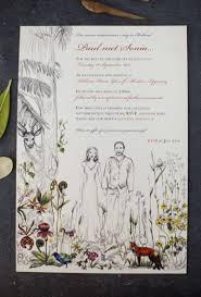 sonia u0026 paul u0027s bespoke botanical suite wedding stationery from