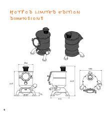 limited edition hotpod unique stoves