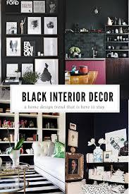 stunning black home decor ideas diycandy com