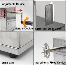 amazon com riorand manual stainless steel twisted potato slicer