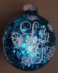 diy frozen ornaments frozen projects frozen