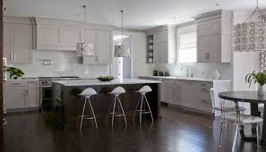 light gray stained kitchen cabinets 2 tone kitchen contemporary kitchen kitchens by deane