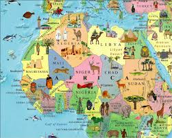 Map Of Abu Dhabi Illustrated Map Of The World For Kids Children U0027s World Map
