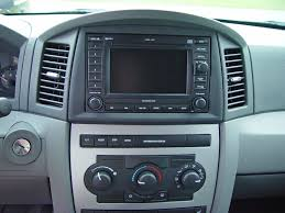 jeep grand cherokee wk rec navigation radio