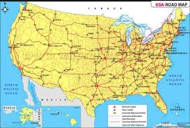 map of usa with compass maps on us directions major tourist attractions maps