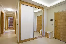 mirrored french closet doors wood frame u2014 prefab homes unique