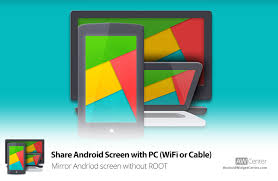 screen mirroring android android screen with pc wifi mirror without root